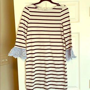 Beachlunchlounge striped t-shirt style dress